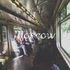 Photo taken at Метро Фили (metro Fili) by Aliona F. on 6/14/2013