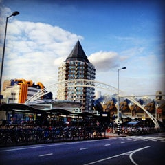 Photo taken at Station Rotterdam Blaak by Gerardo X. on 7/7/2013
