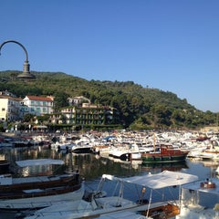 Photo taken at Porto di San Marco di Castellabate by Francesco F. on 7/18/2014