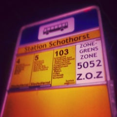 Photo taken at Bushalte Station Schothorst by Alexander B. on 2/10/2014
