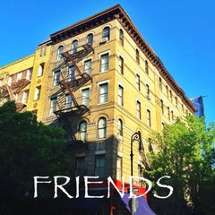 Friends Apartment Building West Village New York Ny