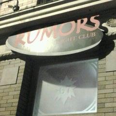 Photo taken at Rumors Night Club by Janet P. on 11/8/2012