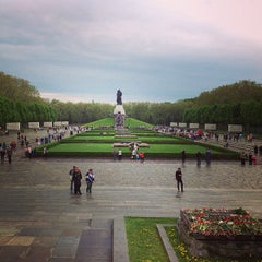 Photo taken at Treptower Park by Елена К. on 5/10/2013