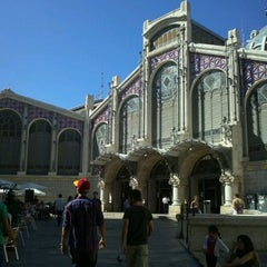 Photo taken at Mercat Central by Eiki S. on 10/8/2011