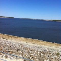 Photo taken at Saylorville Dam by Scott J. on 4/8/2012