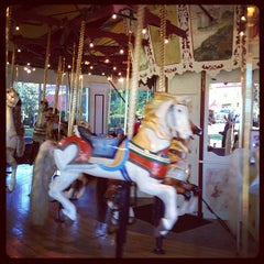 Photo taken at Congress Park Carousel by NewYorkJP on 9/8/2013