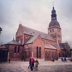 Photo taken at Rīgas Doms | Riga Cathedral by Илья on 4/15/2013