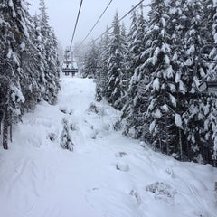 Photo taken at Whistler Blackcomb Mountains by catty on 1/6/2013