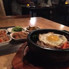 Photo taken at Wharo Korean BBQ by Don H. on 11/13/2014