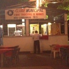 Photo taken at Clube Municipal by Hiro T. on 12/9/2012