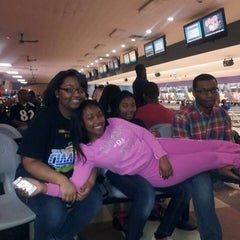 Photo taken at AMF Pikesville Lanes by Kelly T. on 3/30/2013