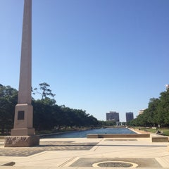 Photo taken at Hermann Park by Nina B. on 5/4/2013