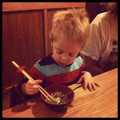 Photo taken at Sumo Japanese Steak House by Chase L. on 1/28/2013