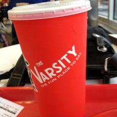 Photo taken at The Varsity by Julie L. on 12/16/2012