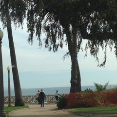 Photo taken at Pergola @ Palisades Park by Brando on 3/3/2014