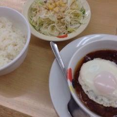Photo taken at 松屋 高田馬場店 by takehiro on 4/25/2014
