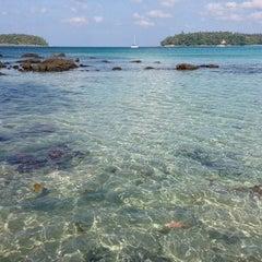 Photo taken at หาดกะตะ (Kata Beach) by Leonid E. on 12/26/2012