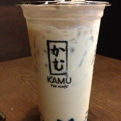 Photo taken at Kamu Tea Station by Sunny L. on 9/10/2013