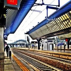 Photo taken at Stazione Milano Rogoredo by Marianna O. on 1/9/2013