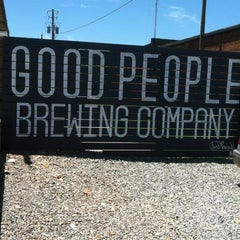 Photo taken at Good People Brewing by Tony A. on 5/25/2013