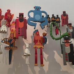 Photo taken at Casa d'Arte Futurista Fortunato Depero by Gabriele B. on 9/6/2015