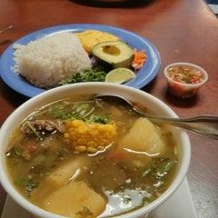 Photo taken at La Antioqueña Restaurante by Ingrid G. on 6/1/2014