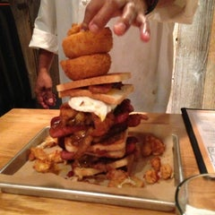 Photo taken at Burger Jones by Tony T. on 10/13/2012