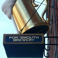 Photo taken at Portsmouth Brewery by Jason S. on 6/20/2013