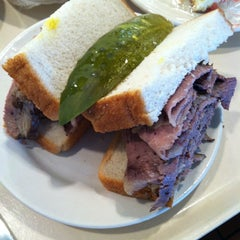 Photo taken at Shapiro's Delicatessen by Molly on 10/8/2012