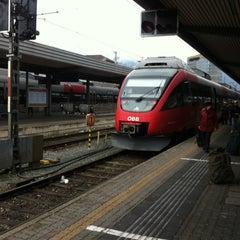 Das Foto wurde bei Innsbruck Hauptbahnhof von Harsh S. am 12/21/2012 aufgenommen