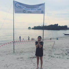 Photo taken at Pantai Cahaya Negeri, PD by Nelly S. on 11/28/2015