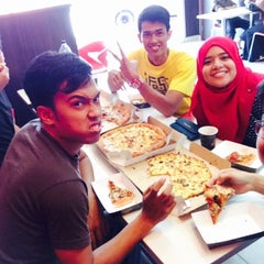 Photo taken at Domino's Pizza by Nadiah M. on 3/17/2015