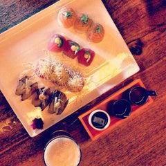 Photo taken at Momo Sushi Shack by Melody H. on 7/27/2013