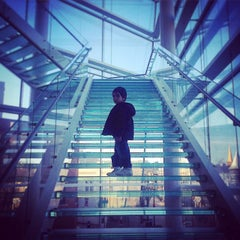 Photo taken at Madison Museum of Contemporary Art by Sophia L. on 1/1/2015