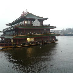 Photo taken at Sea Palace by Caesar C. on 12/1/2012