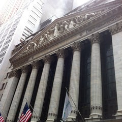 Photo taken at New York Stock Exchange by Alex 1. on 5/24/2013
