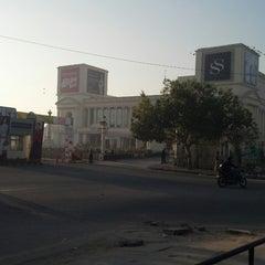 Photo taken at Shipra Mall by Ashish T. on 3/6/2013