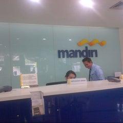 Photo taken at Bank Mandiri by Meity Y. on 3/10/2014