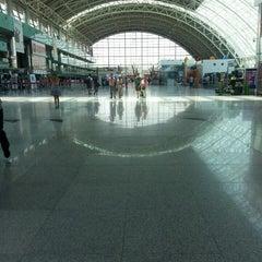 Photo taken at İzmir Adnan Menderes Airport (ADB) by Alexandra E. on 6/27/2013