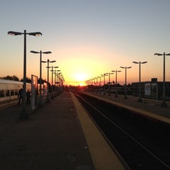 Photo taken at LIRR - Hicksville Station by Max S. on 10/20/2012