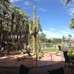 Photo taken at Hyatt Regency Scottsdale Resort and Spa at Gainey Ranch by andres m. on 9/9/2013