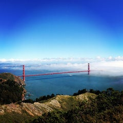 Photo taken at Hawk Hill by Patrick S. on 4/1/2013