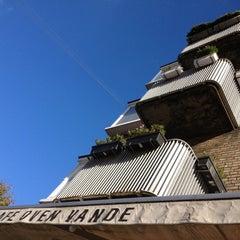 Photo taken at Café Oven Vande by Jørgen C. on 10/11/2012