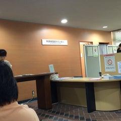 Photo taken at 国立国会図書館 新館 (National Diet Library Annex) by Akinobu Y. on 8/1/2014