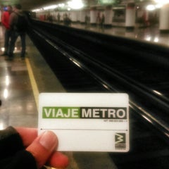 Photo taken at Metro San Juan de Letrán by Caminαλεχ 🚶 on 3/12/2015