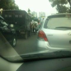 Photo taken at Jalan Gajah Mada by Surya Harapan A. on 10/29/2012