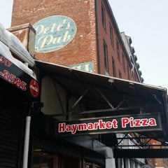 Photo taken at Haymarket Pizza by Nick A. on 3/3/2015