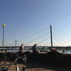Photo taken at Kiosk am Rhein by Serge B. on 5/18/2013