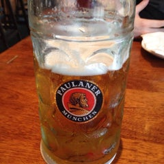 Photo taken at Brotzeit German Bier Bar & Restaurant by Marlin B. on 1/10/2014