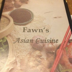 Photo taken at Fawn's Asian Cuisine by Jerry L. on 1/1/2013